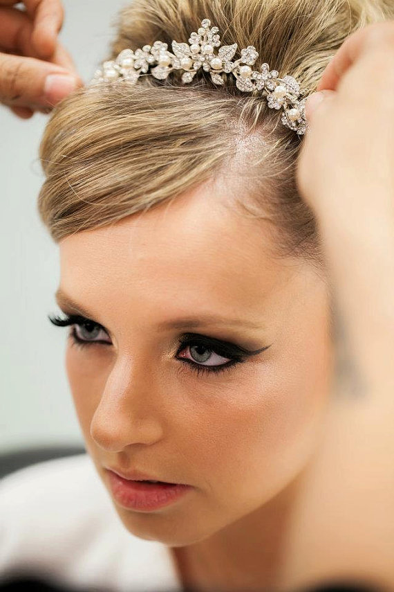 2016 Wedding Hairstyles With Tiara