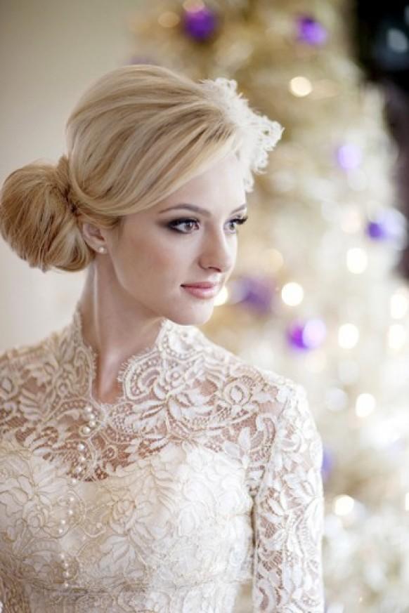 2016 Winter Wedding Hairstyles
