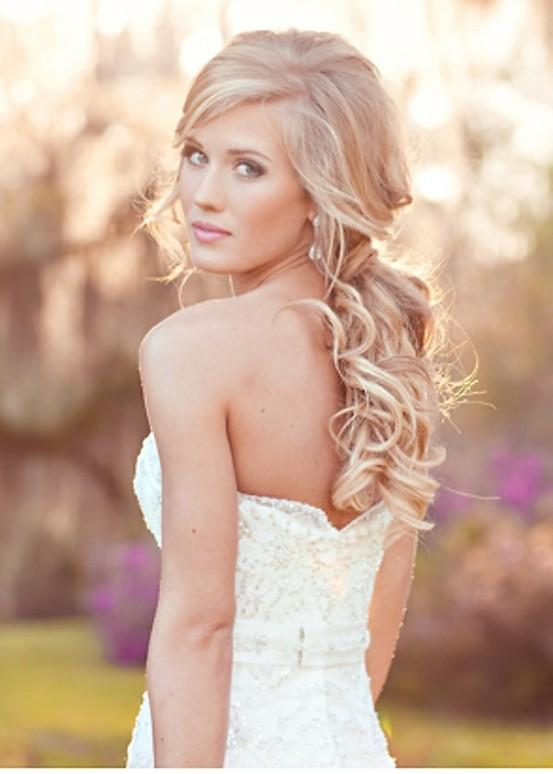 Beautiful Bohemian Wedding Hairstyles