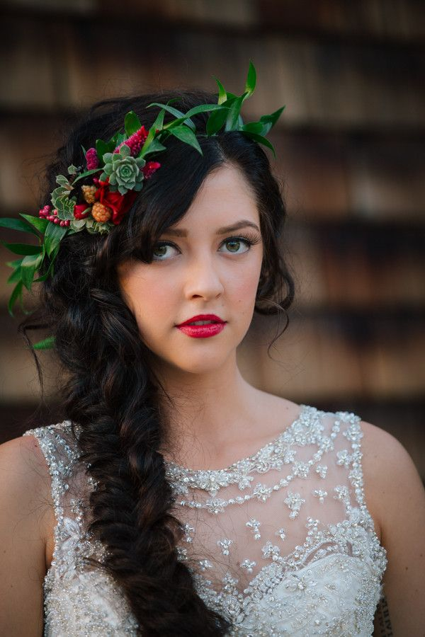 Beautiful Fall Wedding Hairstyles 2016