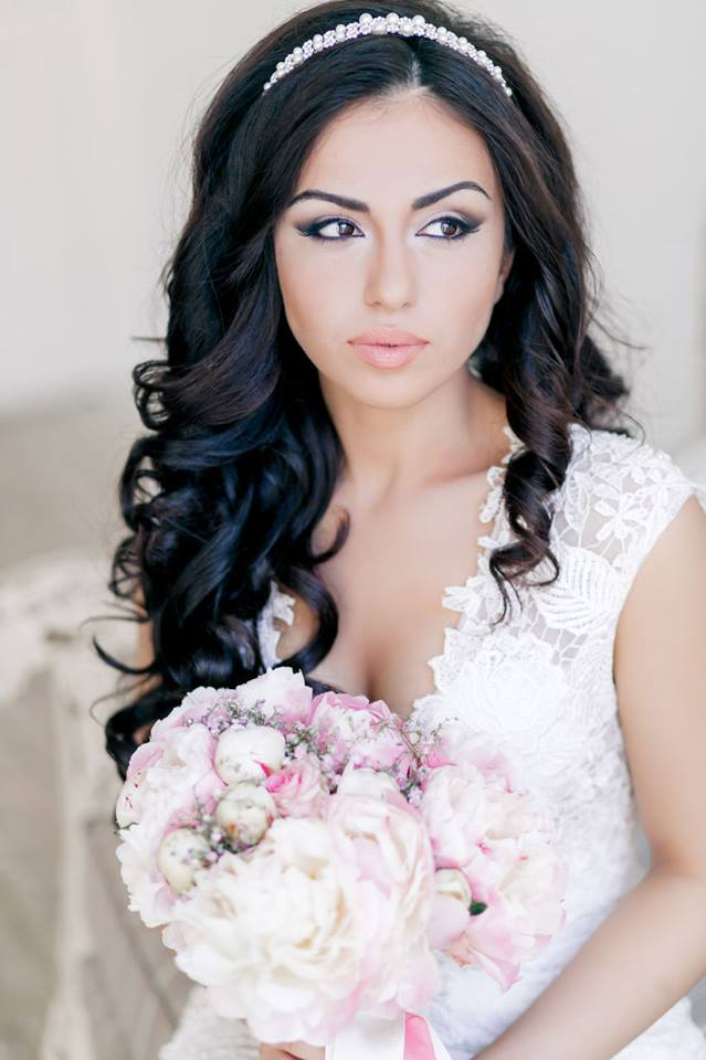 Beautiful Modern Asian Wedding Hairstyles