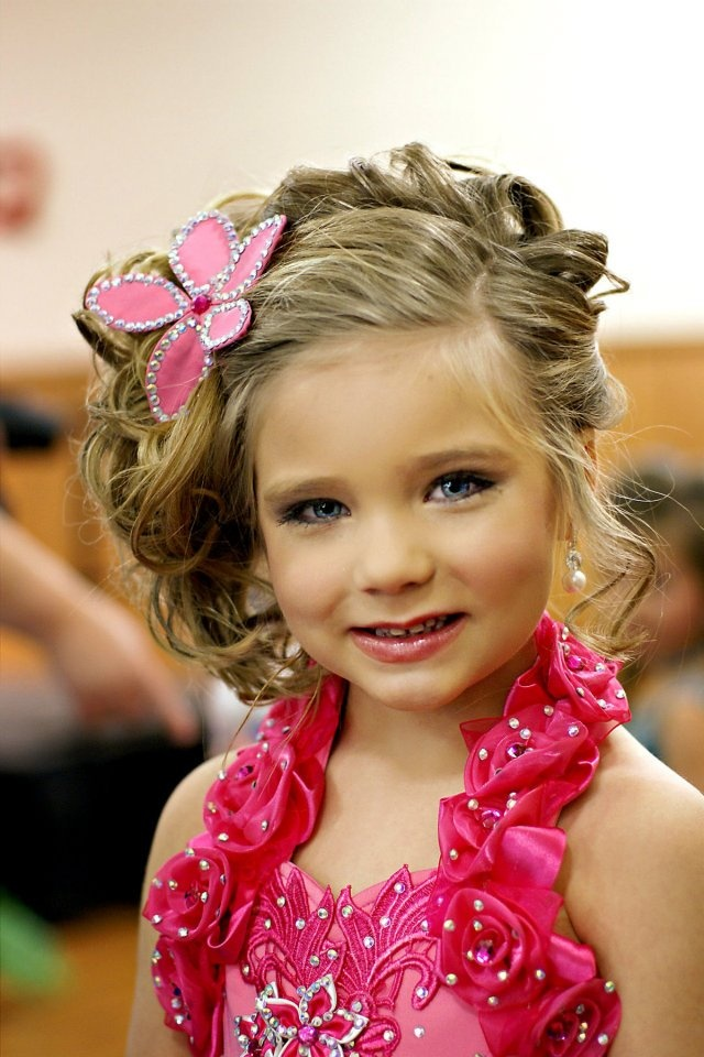 Beauty Wedding Hairstyles For Kids