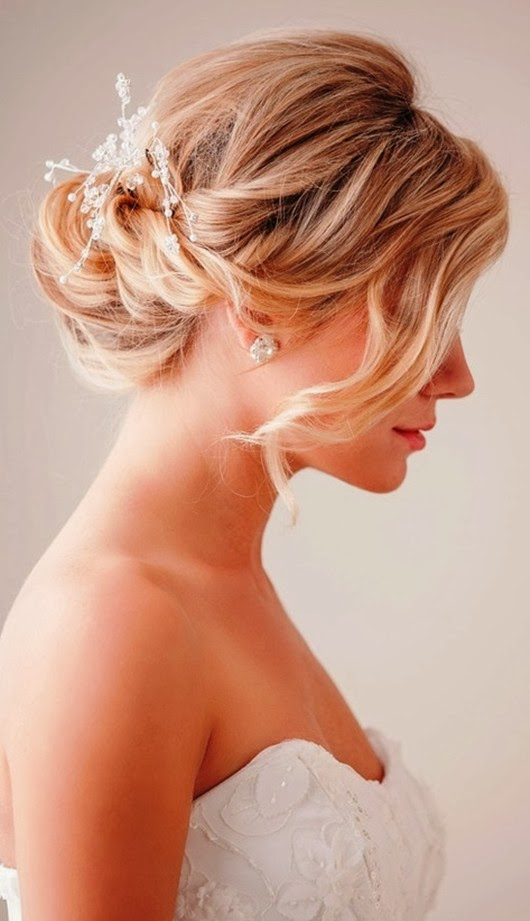 Chignon Wedding Hairstyles Hair Loose Updo