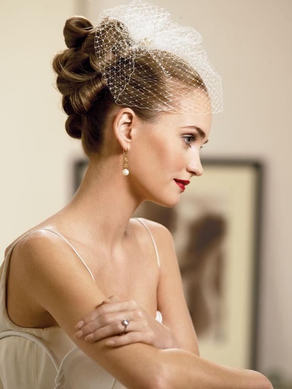 Classic Wedding Hairstyles High Bun