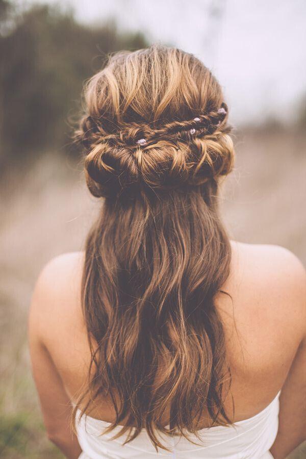 Cool Boho Wedding Hairstyles 2016