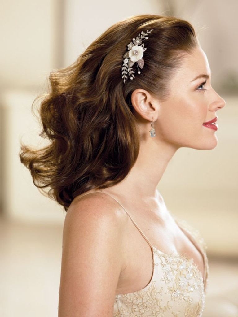 Down Country Wedding Hairstyles
