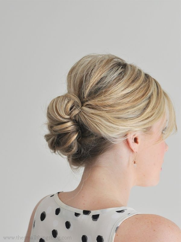 Easy Updos Wedding Hairstyles For Thin Hair