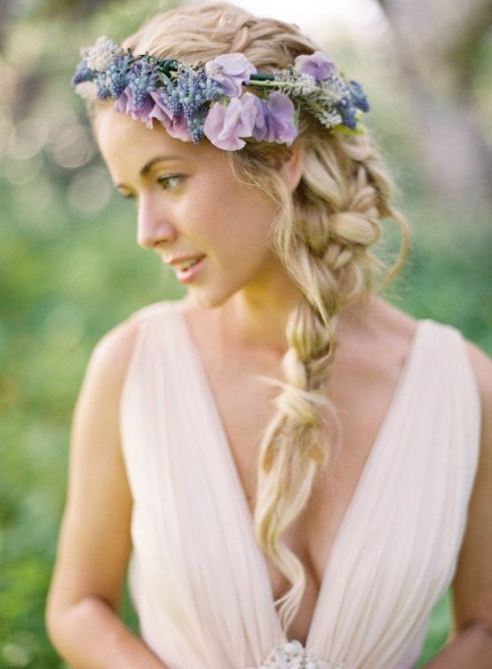 Hippie Wedding Hairstyles Bridal Hairstyles