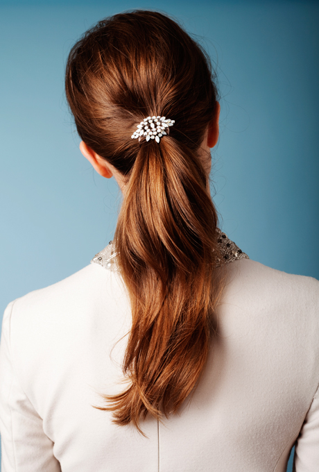 Long Ponytail Wedding Hairstyles