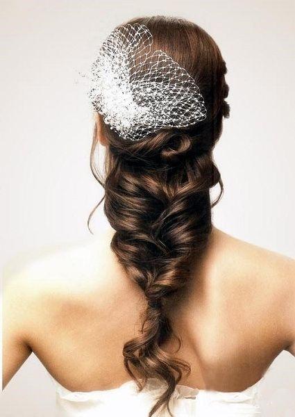 Loose Braid Rustic Wedding Hairstyles