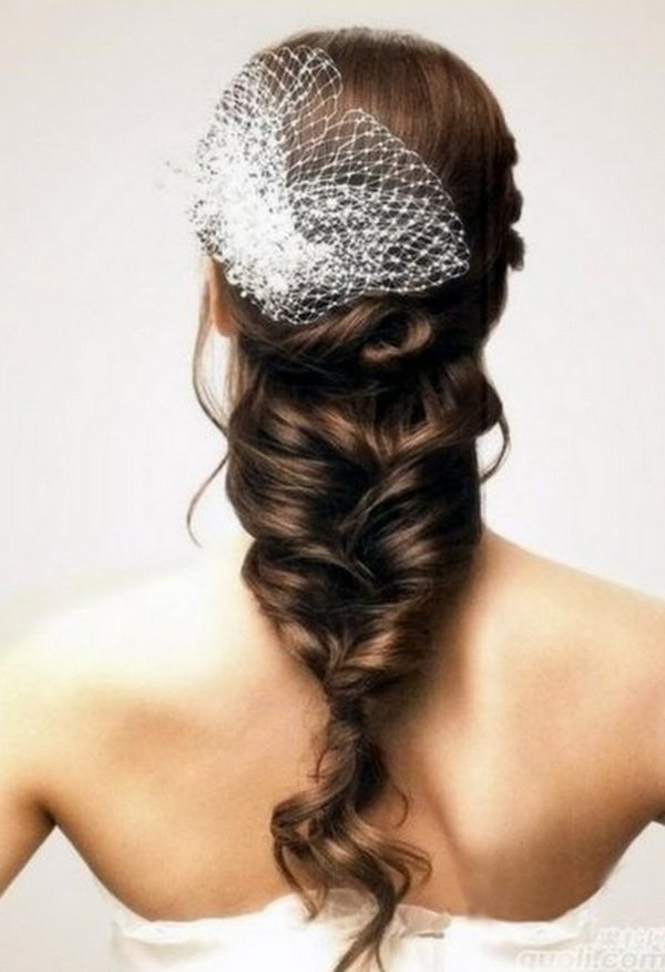 Loose Braid Wedding Hairstyles