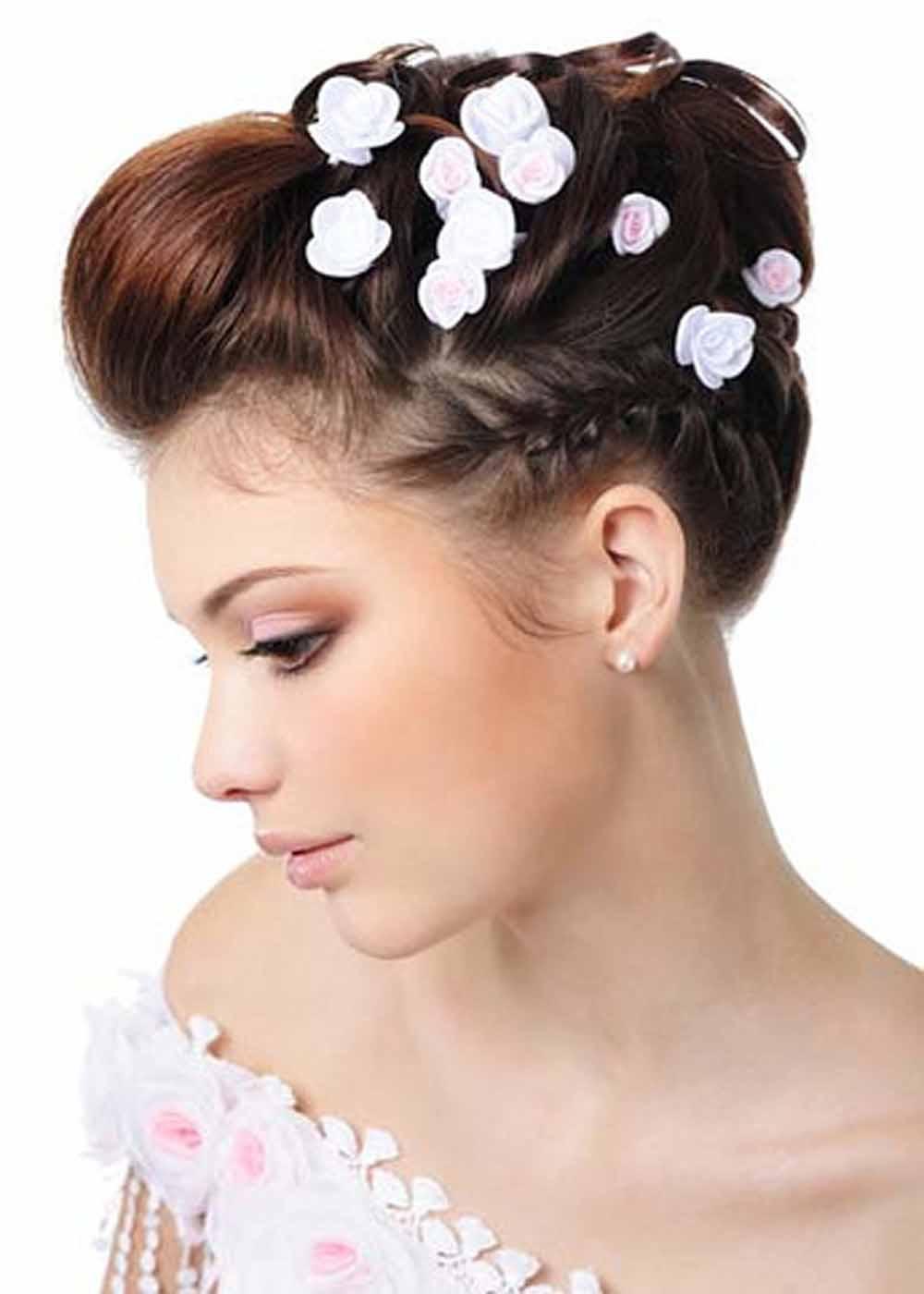 Simple Wedding Hairstyles Short Hair