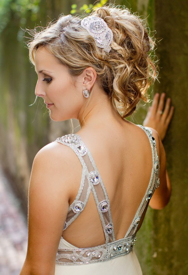 Wedding Hairstyle with Headband 2016