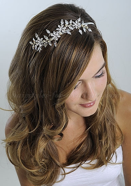 Wedding Hairstyles Down with Headband 2016