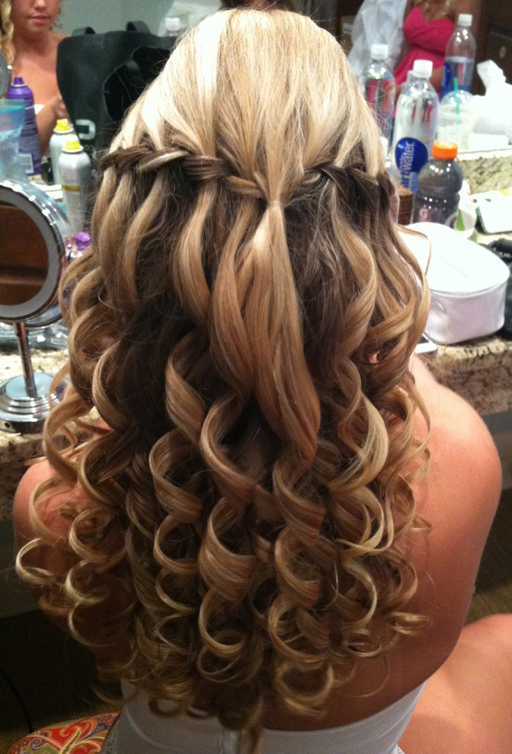 Wedding Hairstyles For Brown Hairs Curls