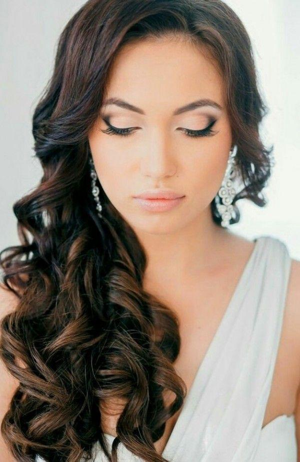 Wedding Hairstyles For Brown Hairs