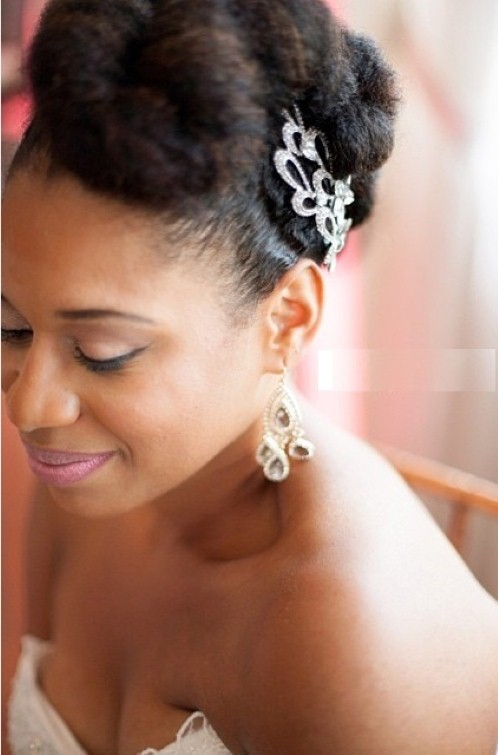 Wedding Hairstyles for Black Women Natural Hair