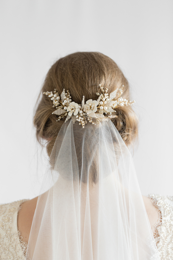 Wedding Hairstyles with Jasmine Comb