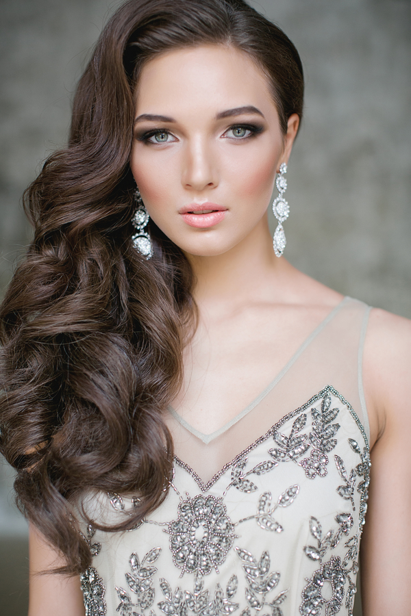 Winter Wedding Hairstyles Long Hair