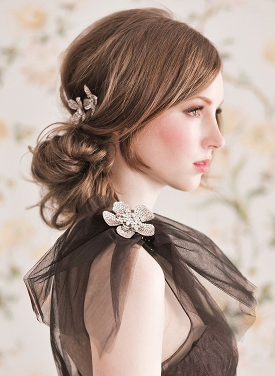 wedding updos romantic wedding updos