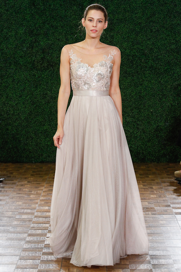 20 Blush Wedding Dresses Ideas - Wohh Wedding