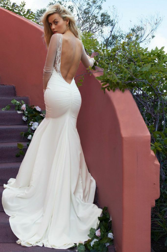 Backless Wedding Gowns 2016