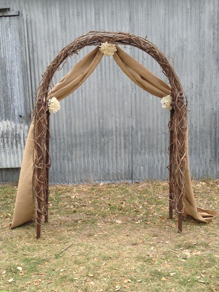 Beautiful Burlap Weddings Ideas