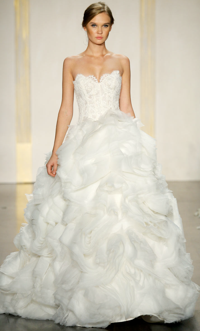 Big Ball Gown Wedding Dress