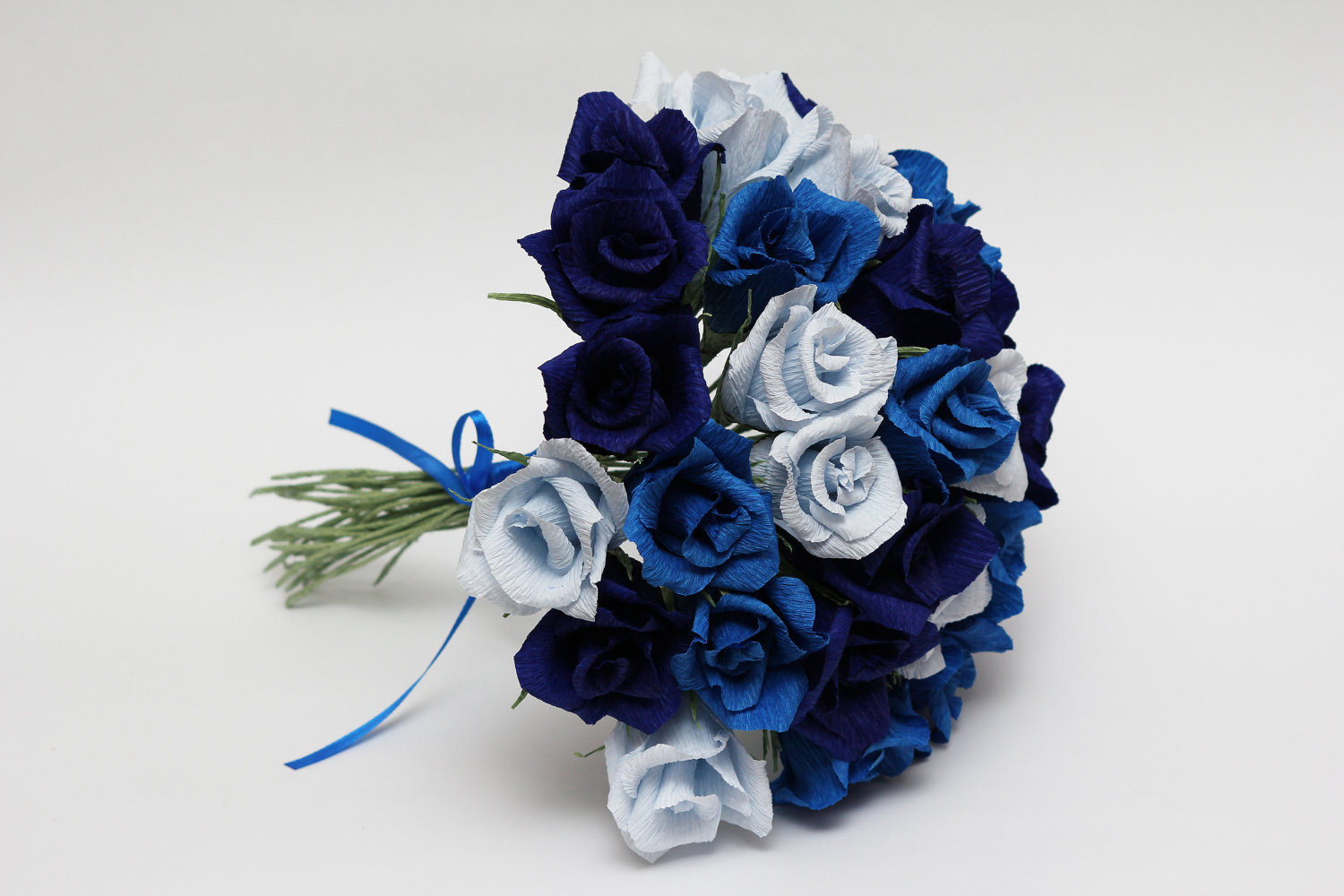 Blue Wedding Bouquets Ideas