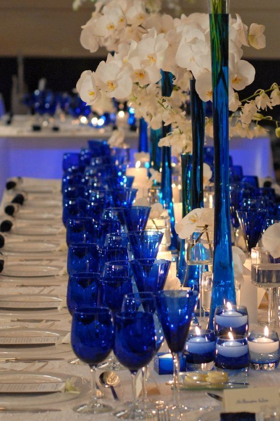 Blue Wedding Ideas with Beautiful