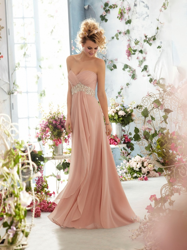 Blush Pink Wedding Dress Ideas