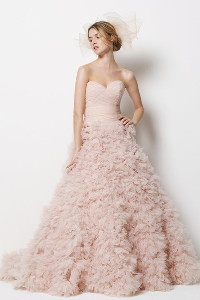 Blush Wedding Dresses 2016
