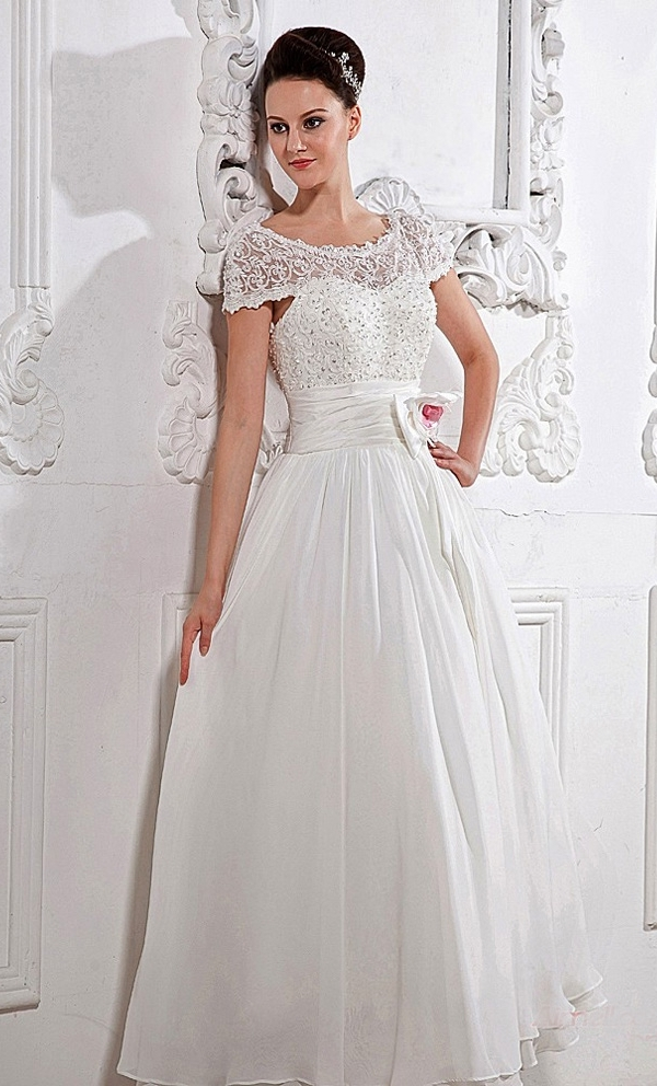 Chiffon Wedding Dresses Ideas