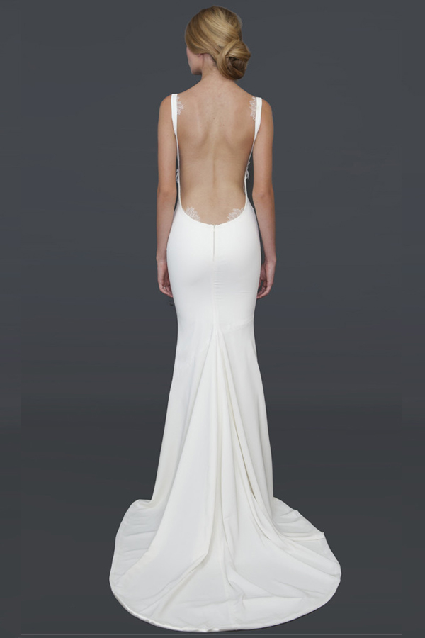 Cool Backless Wedding Dresses