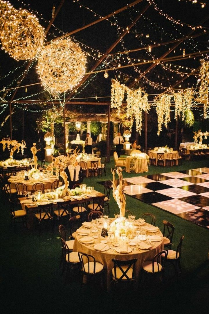 Dream Shimmering Gold Wedding Ideas