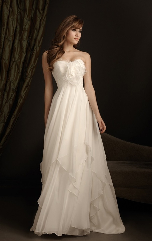 Excellent Flowy Wedding Dresses
