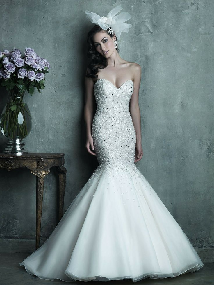 Fabulous Sparkly Wedding Dresses
