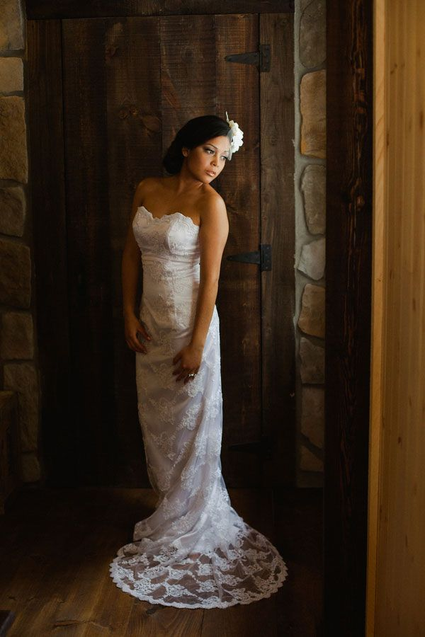 Fitted Rustic Wedding Dresses