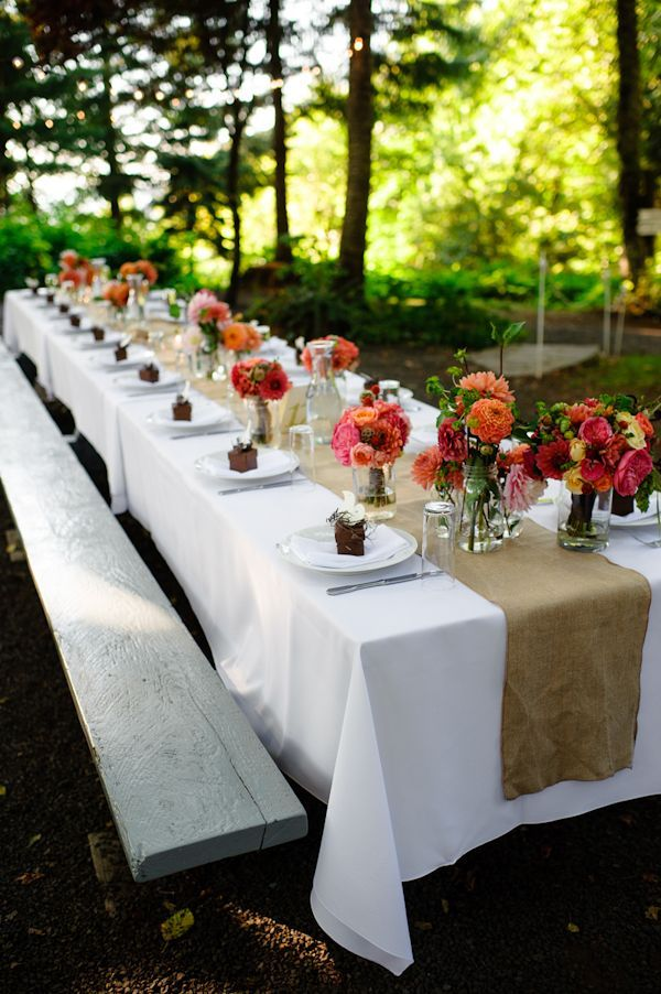 Outdoor Wedding Decoration Ideas Summer
