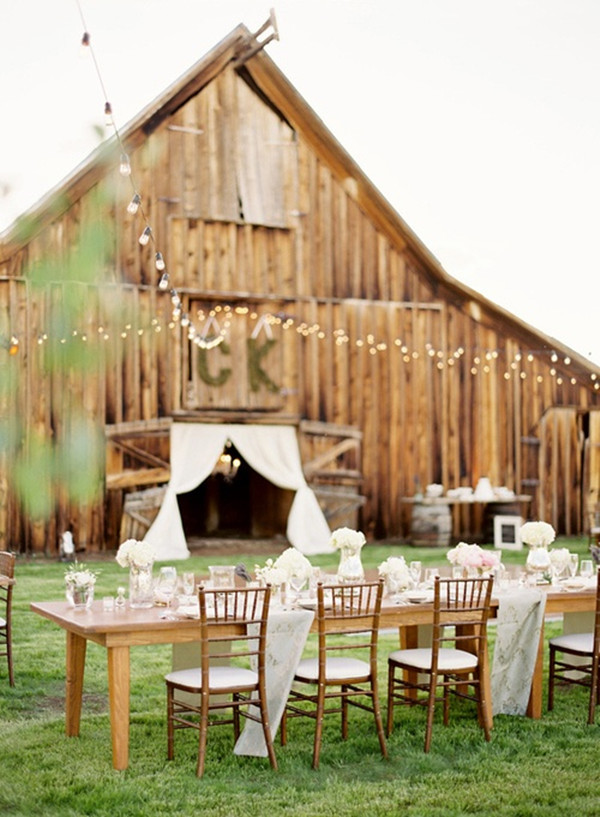 Perfect Farm Wedding Ideas