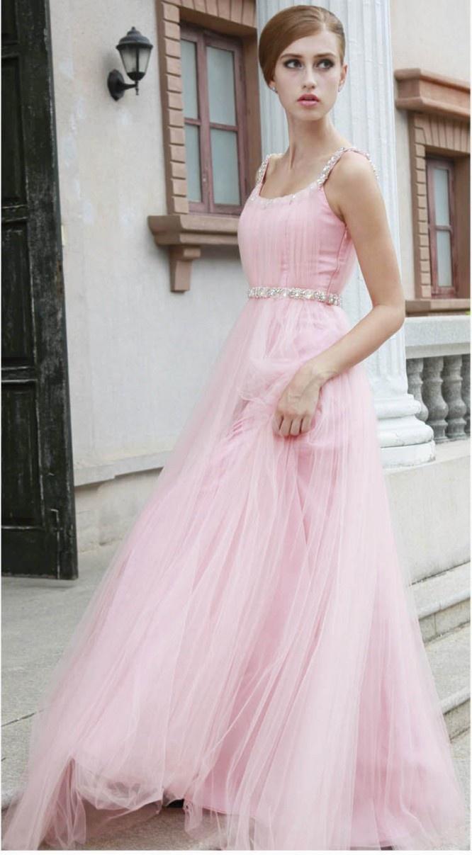 Pink Unique Wedding Dresses