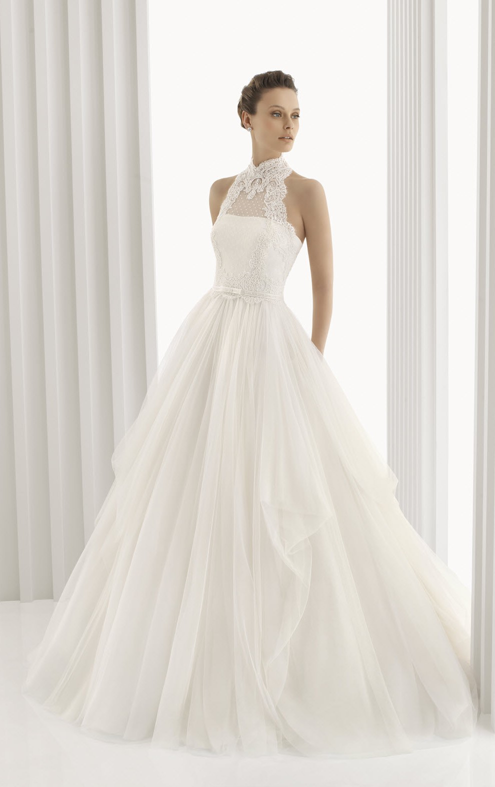 Rosa Clara Long Wedding Dress