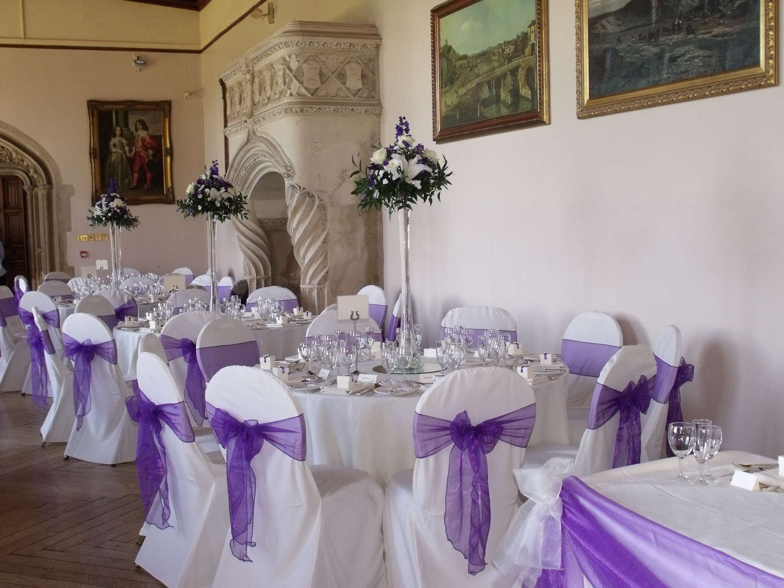 Several Purple Wedding Ideas