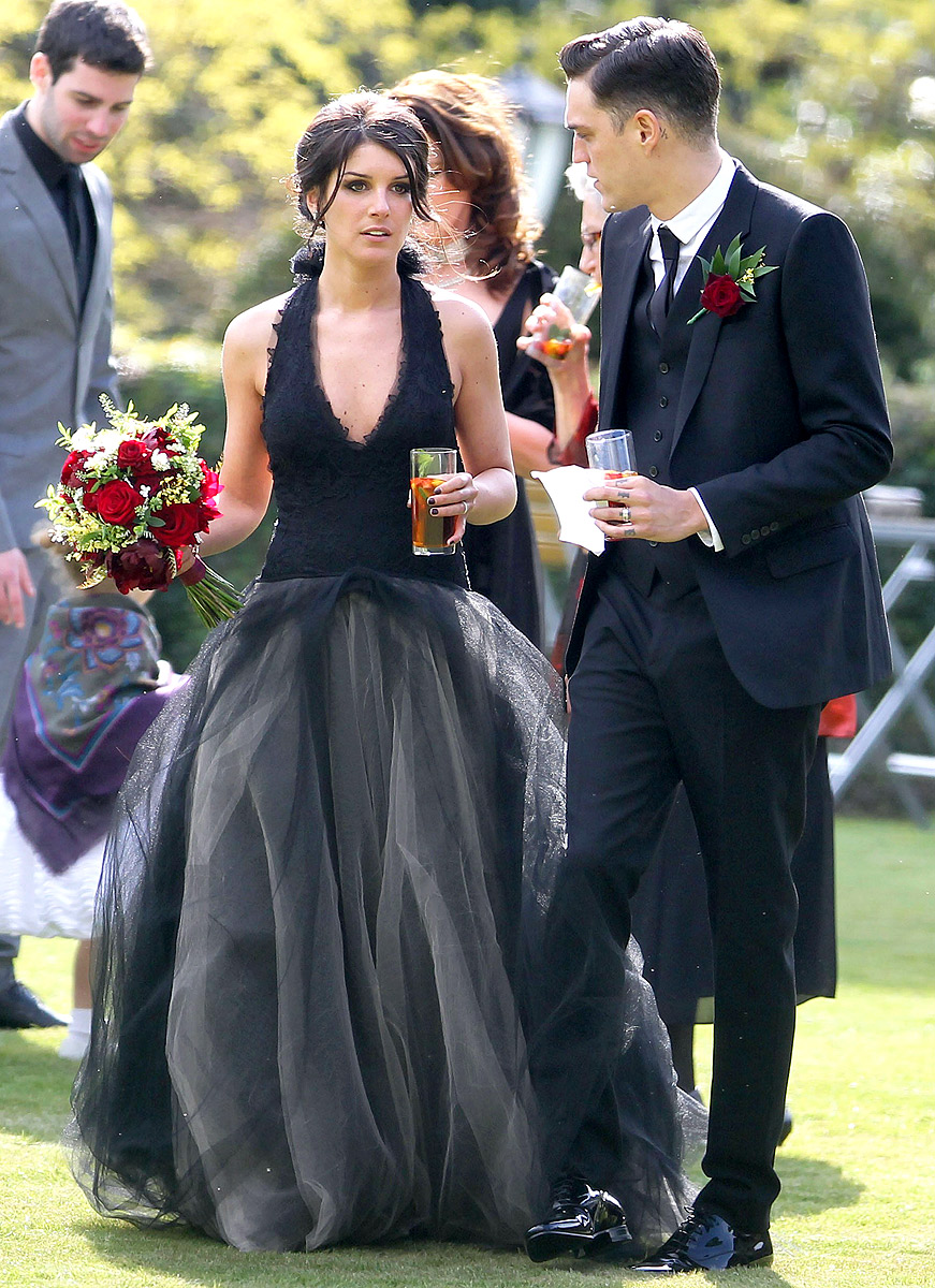 Shenae Grimes Celebrity Wedding Dresses