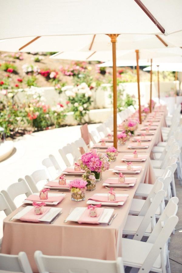 Summer Wedding Table Décor Ideas