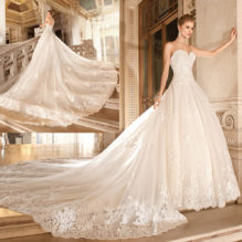 20 Superb Strapless Wedding Dresses Ideas