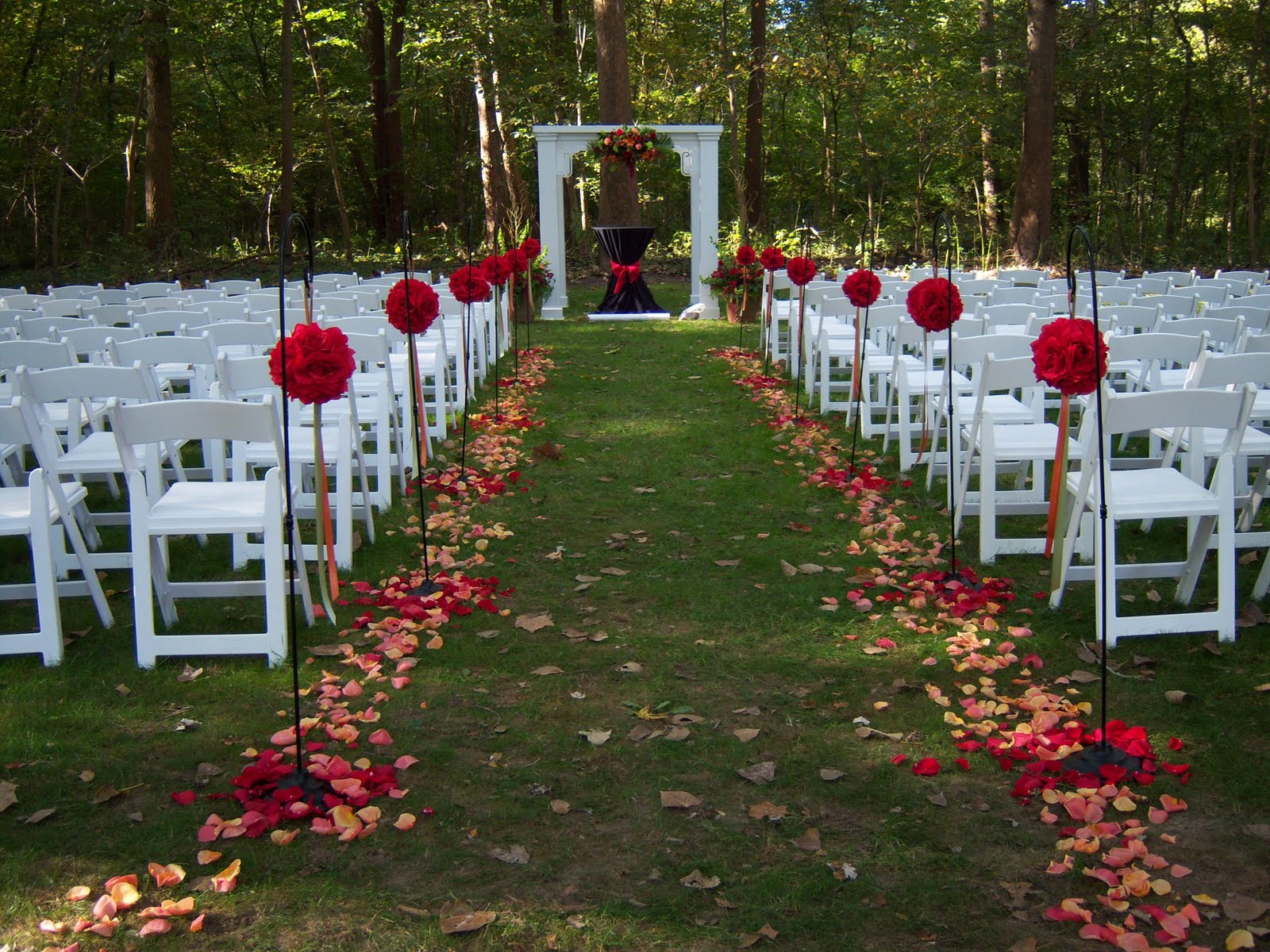 good garden wedding ideas