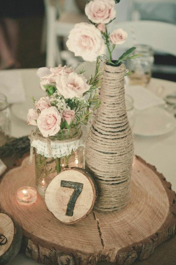 simple wedding centrepiece ideas