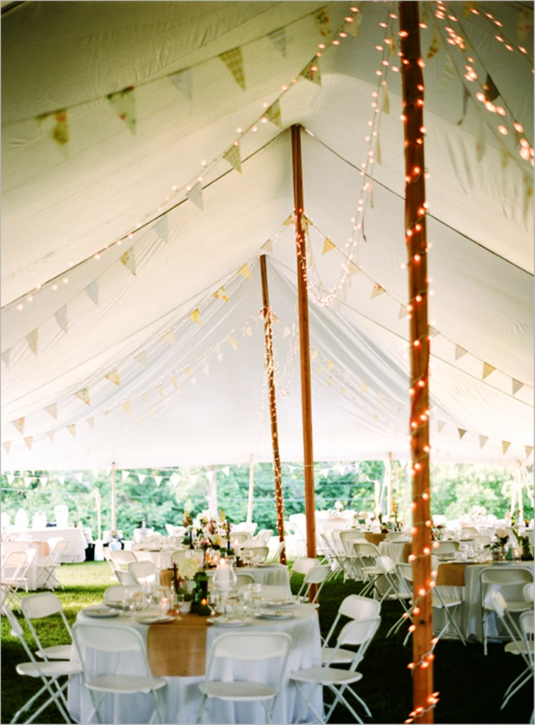 Backyard Wedding Tents Decorations Ideas