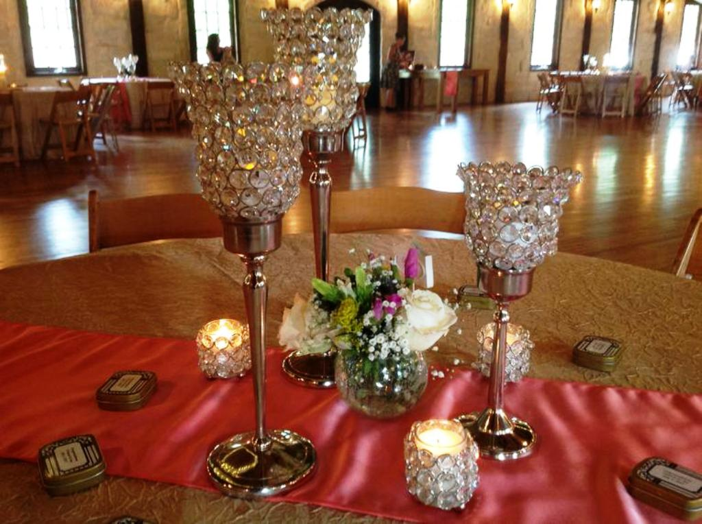 Bling Wedding Decorations